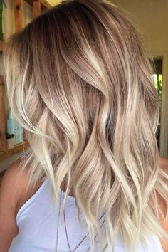 Trending ombre blonde hair colors ideas for 2017 2018. See here if you're looking for more elegant hair color trends to make to make you look attractive.