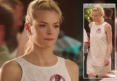 Lemon's white eyelet scalloped dress on Hart of Dixie. Outfit Details: http://wornontv.net/6334/ #HartofDixie Marc Jacob Shell & Lining: 100% cotton Lined Eyelet overlay Back zip closure Dry clean only Revolve Style No. MARC-WD141 Manufacturer Style No. M1121323