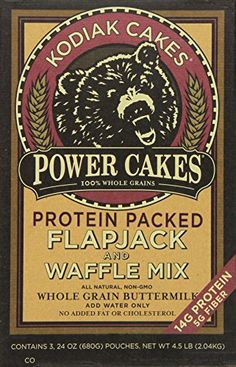 Kodiak Cakes Power Cakes: Flapjack and Waffle Mix Whole Grain Buttermilk 4.5 Lb ** Special offer just for you. : Baking Ingredients