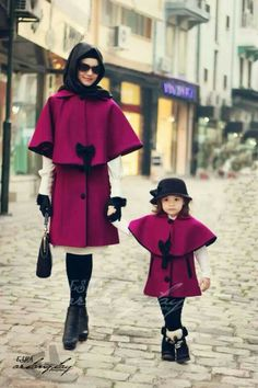 Adorable Mother daughter matching jackets! | Initials, Inc