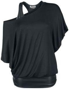 Bat Double Layer Leatherlook von Black Premium by EMP