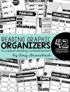 Provide students opportunities to communicate their understanding and interpret a variety of texts and genres using these reading graphic organizers. These organizers will enable students to activate critical thinking skills during targeted small group or whole group instruction, literacy stations, or literature circles.