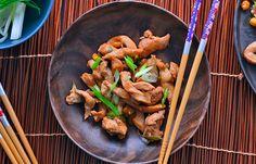 Ασιάτικο Κοτόπουλο #pestomenafai Kung Pao Chicken, Ethnic Recipes, Food, Meals, Yemek, Eten