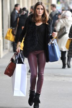Olivia Palermo out and about in Paris