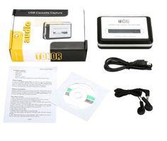Convertidor USB de cassettes a MP3 de Tonor en oferta por tiempo limitado en Amazon España. Su precio suele ser inferior a los 20 euros.