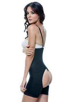 288bff95c Strapless Mid Thigh Body w  Buttock Enhancer