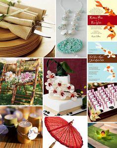 Japanese Theme Weddings