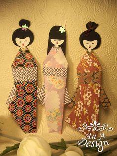 Paper geishas.