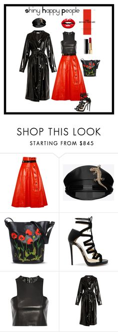 """Shiny Revolution"" by boutiquebrowser ❤ liked on Polyvore featuring Bottega Veneta, Yves Saint Laurent, STELLA McCARTNEY, Jimmy Choo, Balmain and Attico"
