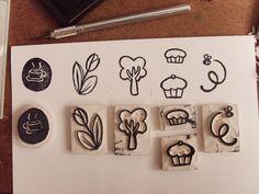 ro 2014 01 06 tutorial-cum-poti-sa-iti-faci-o-stampila-haioasa Handmade Card Making, Handmade Stamps, Make Your Own Stamp, Simply Stamps, Stamp Carving, Card Making Supplies, Tampons, Mark Making, Cute Cards