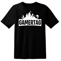 2d76aa51a Fortnite Gamertag Shirt Personalized Battle Royale Game Tee for Gamer  Birthday Gift Men Kids Women or Youth Gaming Clothing 99 Problems