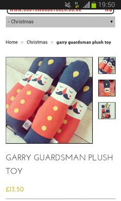 Love this soldier soft toys