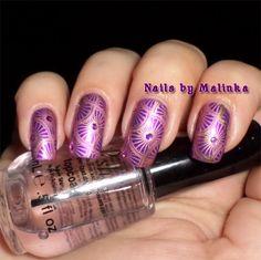 Nails by Malinka: Born Pretty plate BP-L003