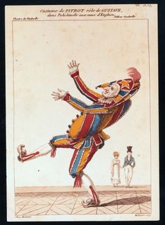 Commedia Dell'Arte characters always had to have a level of pantomime to their characters to express their feelings and emotions to the audience.
