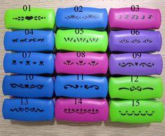 1 Unids 20 tipo de BRICOLAJE Cortador de la Tarjeta de Impresión De Papel Scrapbook Shaper pequeño dispositivo de Grabación En Relieve Perforadora Niños Hechos A Mano de Artesanía de regalo YH02