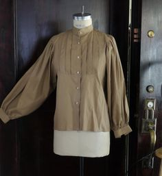 1970s Vintage Steampunk Women's Shirt by MsVintageLove on Etsy, $28.00