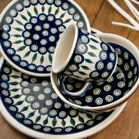 Blue Rose Polish Pottery: Product Display