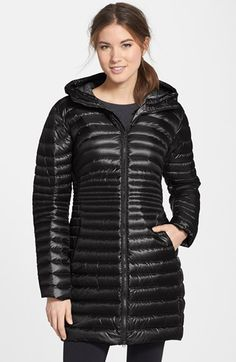 Arc'teryx 'Nuri' Hooded Down Coat available at #Nordstrom