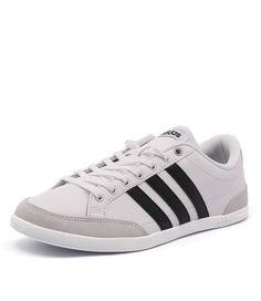 Adidas neo uomini occasionale scarpe caflaire b74614 dimensioni uk7 bianco