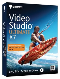 #amazon Corel VideoStudio Ultimate X7 [Old Version] - $29.99 (save 70%) #corelvideostudioultimatex7 #corel #software