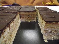Kávovo orechový rez, recepty, Zákusky | Tortyodmamy.sk
