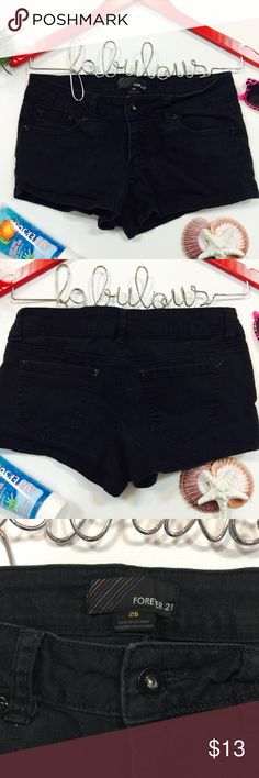 ▪️Forever 21 Black Shorts▪️ 🏃‍♀️  Forever 21 Black Shorts | EUC 📸 Additional Photos or Measurements Available on Request 🖲 Use Blue Offer Button to Negotiate 🛍 Bundle And Save 📦 Ship Next Day Excluding Weekends & Holidays 😊 My Goal Is Customer Satisfaction 🌟 Five Star Seller Rating Forever 21 Shorts Jean Shorts