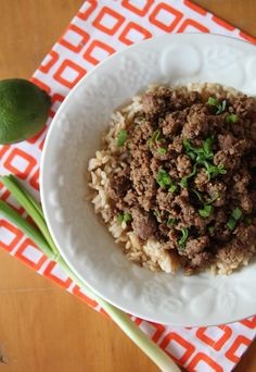 Bran Appetit » Sweet and Spicy Beef