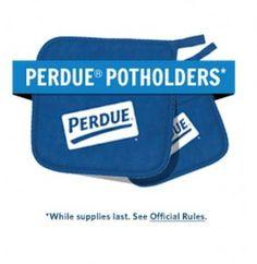 Free Set Perdue Potholders
