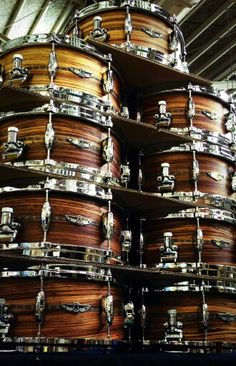 Tama Star Solid Zebrawood Snare Drums