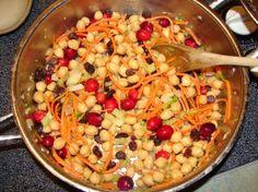 making...Stuffed Moroccan Acorn Squash