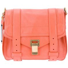 PROENZA SCHOULER 'PS1' crossbody satchel ($1,305) ❤ liked on Polyvore