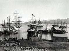 Shipping on the Neva, St. Petersburg, C.1880