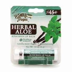 Free Shipping. Buy Hawaiian Tropic Herbal Aloe Sunscreen Lip Balm, SPF 45 0.14 Ounces (Pack of 3) at Walmart.com