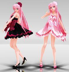 Dress Luka MMD download by Reon046.deviantart.com on @deviantART