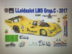 TFS Slot y otros hobbies: LleidaSlot LMS Grupo C 2017 - Daytona Bahrain