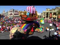 Festival of Fantasy Parade at Walt Disney World - YouTube