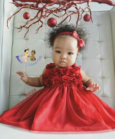 Vahna - 6 Months • Mom: Trinidadian & St. Vincent • Dad: Jamaican, Chinese & Caucasian ❤