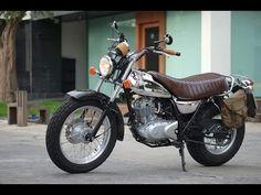 Custom Chrome Suzuki RV125 vanvan modified exhaust - YouTube