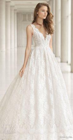 Princess Ball Gown Wedding Dress - Rosa Clara