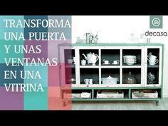 Transforma una puerta y ventanas en una vitrina (Programa completo) | Co...
