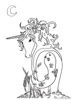 Thanksgiving Coloring Pages Free Unicorns Pictures