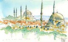 Resultado de imagem para istambul sketch