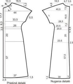 Best Ideas For Sewing Clothes Patterns Costura Dress Sewing Patterns, Sewing Patterns Free, Free Sewing, Clothing Patterns, Bag Patterns, Skirt Patterns, Blouse Patterns, Dress Tutorials, Sewing Tutorials