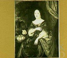 Portret van een vrouw, mogelijk Anna de Bye (1636-1713), echtgenote van Jacob van den Steen