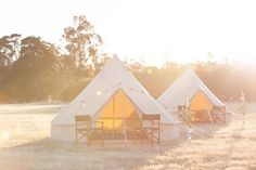 "The Broadsheet NEXT Guide recently published an article entitled ""Camping, But Not As You Know It"" by Imogen Eveson. Happy Glamper popped up in the feature, along with some other great Australian glamping services. Take a look! Image: Elle DS Photography __________ Camping is synonymous with heavy packs, damp sleeping bags and baked beans over an open fire. Or at least, it was. Across the Australian countryside, clusters of bell tents are popping up with all the trimmings of a boutique…"