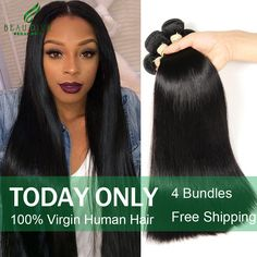 Peruvian-Virgin-Hair-Straight-4-Bundles-7A-Unprocessed-Virgin-Hair-Straight-Human-Hair-Weave-Soft-Peruvian/32351639319.html * Find out more about the great product at the image link.