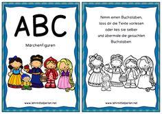 ABC Kurzgeschichten und Märchenfiguren                              …