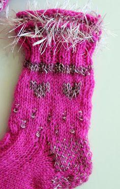 Close-up of bling-bling socks