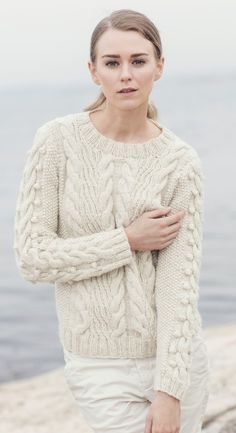 Tröja Kattegatt 1 Aran Sweaters, How To Purl Knit, Knit Crochet, Pullover, Knitting, Instagram Posts, Knits, Fashion, Threading