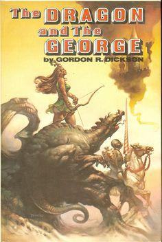 Dragon and The George - Gordon R. Dickson boris vallejo